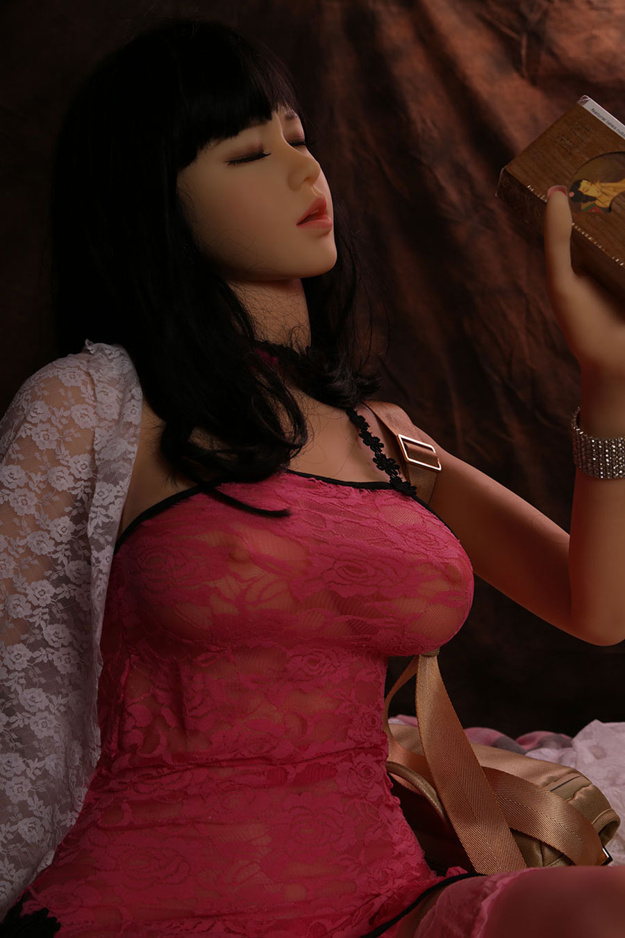 158cm Natural Breast Sex Doll